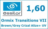 Ormix Transitions VII Brown/Grey Crizal Alize+ UV
