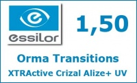 Orma Transitions XTRActive Crizal Alize+ UV