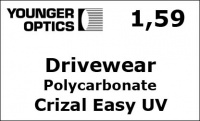 Drivewear Policarbonate Crizal Easy UV (для вождения)
