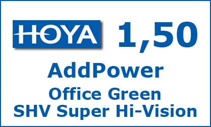 Линзы AddPower Office Green SHV Super Hi-Vision от Hoya