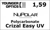 NuPolar Polycarbonate Crizal Easy UV