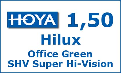 Линзы HILUX OFFICE GREEN SHV SUPER HI-VISION от Hoya